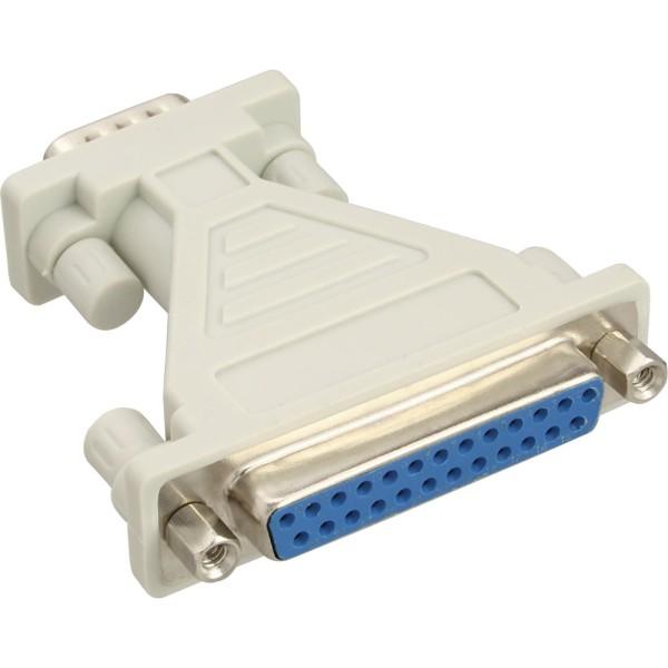 AT-Adapter, 25pol Sub D Buchse an 9pol Sub D Stecker, 31249