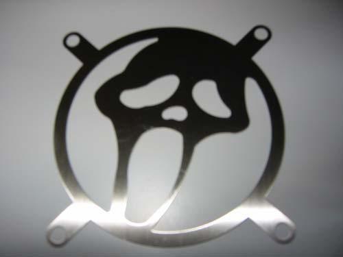 Lüftergitter Laser Cut Scream 92x92mm