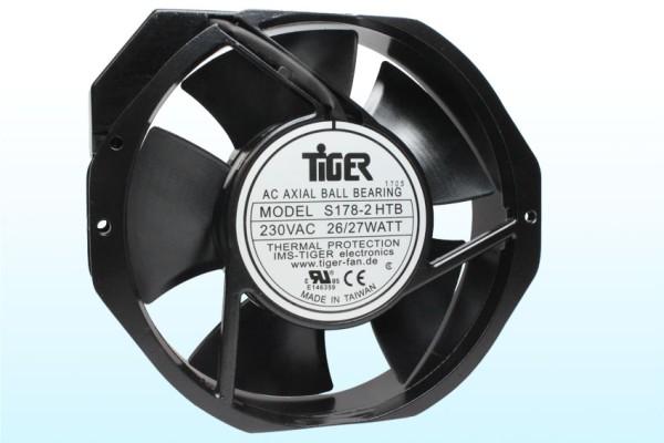 Lüfter Axial 230V AC 150x172x38mm Kugellager 2850U/min