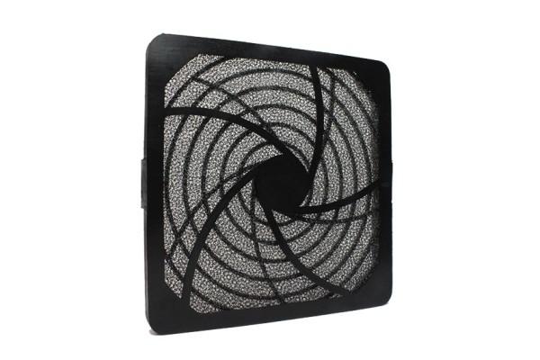 Lüfter Filter-Kit für Lüfter 120x120mm, Kunststoff, schwarz