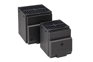 Kleines Halbleiter-Heizgebläse CS 028, AC 120 V, 50/60 Hz, 150 Watt, Abm.: 87x65x114mm