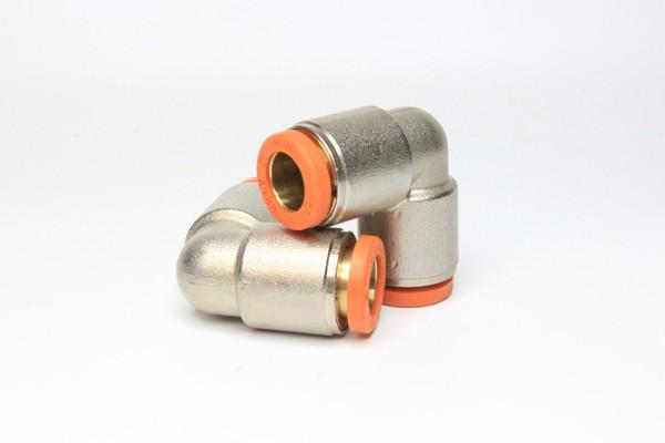 2 Stück Push-In Winkel Adapter 90° 10mm