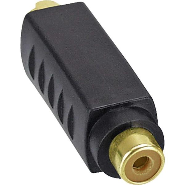 S-VHS Adapter, 4pol Mini Din Stecker an Cinch Buchse, vergoldete Anschlüsse