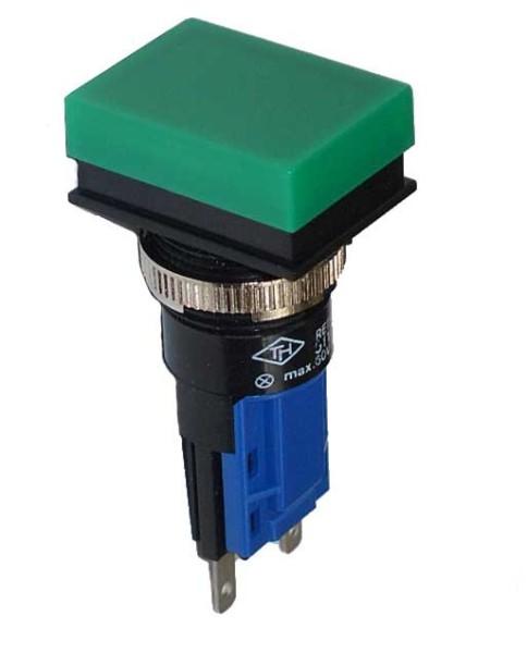 TH25 Signallampe, 18x24mm, Frontrahmen verdeckt, Steckanschluss