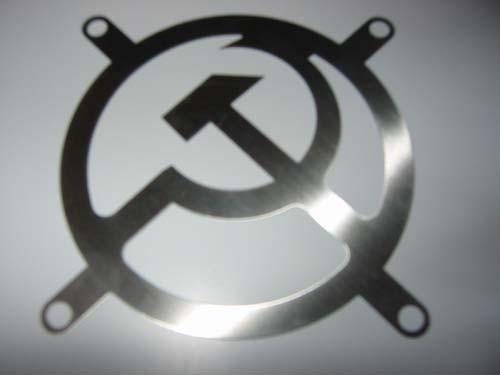 Lüftergitter Laser Cut Osten 80x80mm