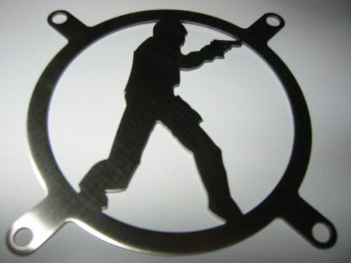 Lüftergitter Laser Cut Deagle 120x120mm