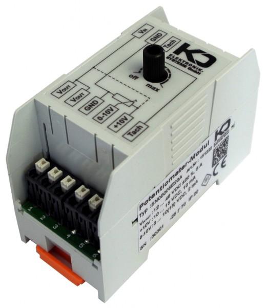 Potentiometer Modul zur Drehzahlsteuerung f. Lüfter 0-10 V, AC & DC