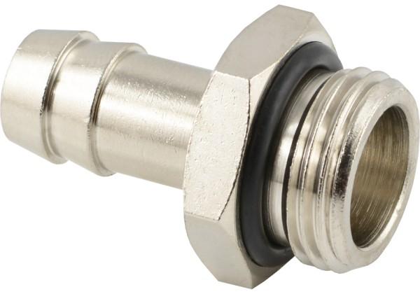 Schlauchtülle mit zylindrischem Außengewinde - mit NBR O-Ring