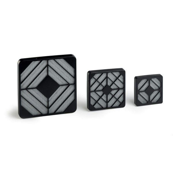 Filter-Kit für Lüfter 80x80mm - Feinpartikel Filter