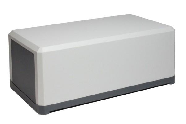 Universal-Gehäuse 160x90x65mm, Kunststoff, hellgrau, 1Stk.