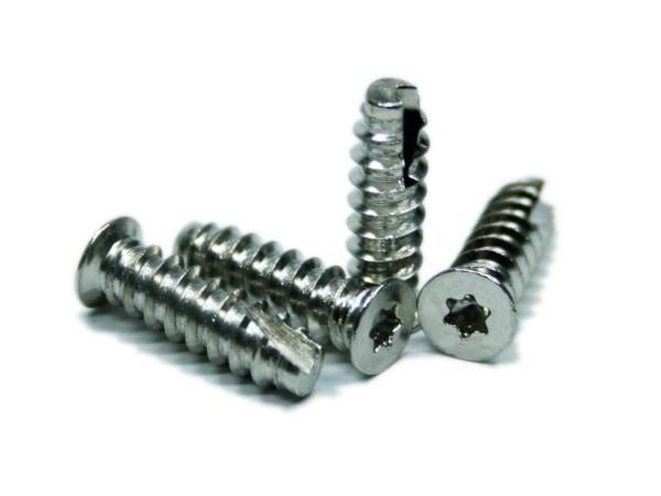 Torx-Schraube 5,0x16,0mm vernickelt 100 Stück, torx screw 16mm 100 p.