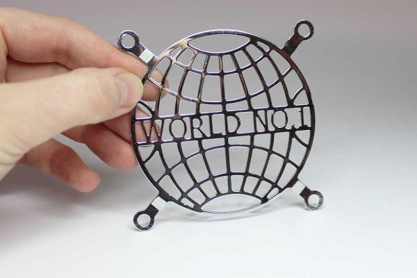 Lüftergitter Laser cut WORLD NO.1 80x80mm