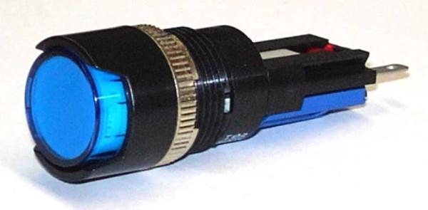 TH25 Signallampe, Ø=18, Frontrahmen gerade, Steckanschluss, IP67