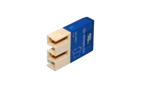 TH25 Kontaktelement, 1Ö+1S GOLD, Stecker mit Isolierung