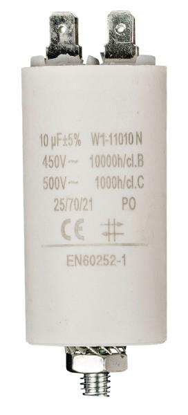 Betriebskondensator 10.0µF 450V