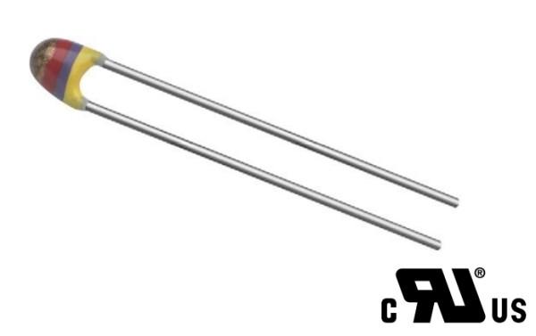 NTC Thermistor; 10kOhm; THT; 3977K; -40÷125°C; 500mW