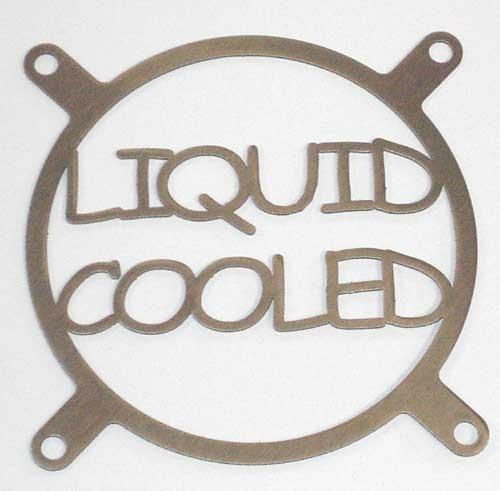 Lüftergitter Laser Cut Liquid Cooled 92x92mm