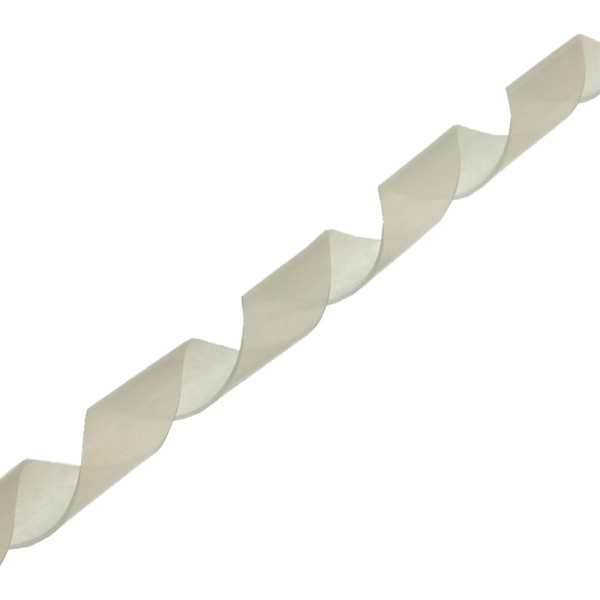 Spiralband 10m, weiß, 12mm