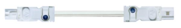 Zubehör LED 025 Verlängerung (incl. Buchse und Stecker) Kabel DC 24-48 V 1m VDE