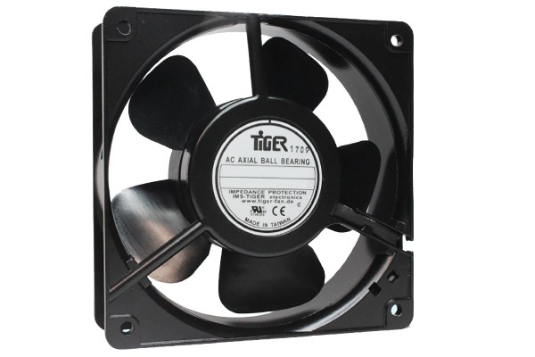 Lüfter für Serverschrank - Rack - Schaltschrank uvm. 120x120x38mm 230V AC