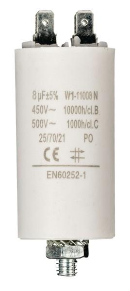 Betriebskondensator 8,0µF 450V