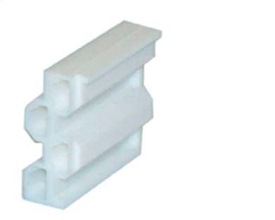Steckhülsengehäuse TH25 für Kontaktelement 1Öffner + 1 Schließer (TP2,TK2, TR2)
