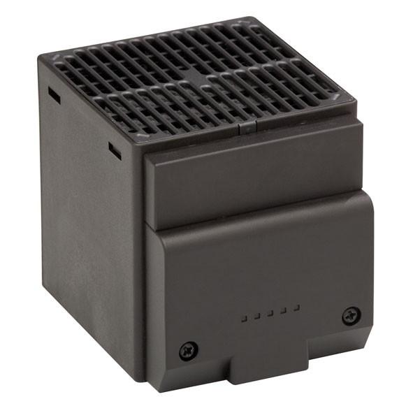 Kleines Halbleiter-Heizgebläse CSL 028, Schraubbefestigung, 120V AC, 50/60 Hz, 250Watt, Abm.: 90x85x111mm
