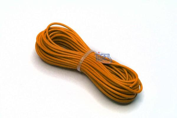 Drahtlitze 1x0,5mm², orange, Rolle m. 10m, H05V-K