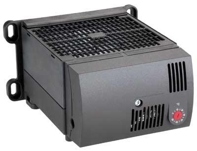Kompaktes Hochleistungs-Heizgebläse CR 130 mit Hygrostat, AC 120 V, 50/60 Hz, 700 W