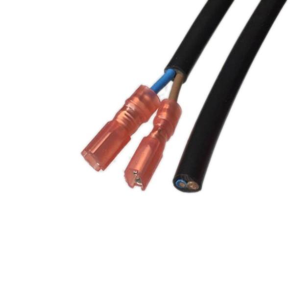 Lüfter Anschlusskabel mit Flachstecker 1,5m