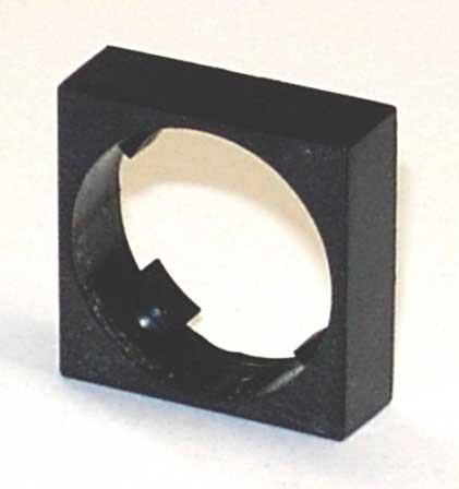 Frontrahmen für Schlüssel- und Drehschalter 18x18mm