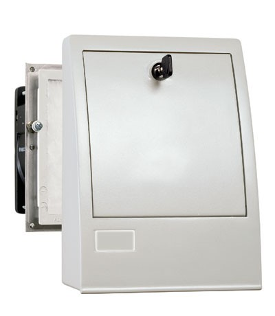 Outdoor-Filterlüfter Serie FF 018, AC 120 V, 60 Hz, 23 m³/h, 125 x 125 mm
