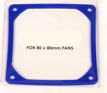 Frameslics 80mm für 80x80mm Fans VIBRATION ABSORBER FOR 80mm FANS