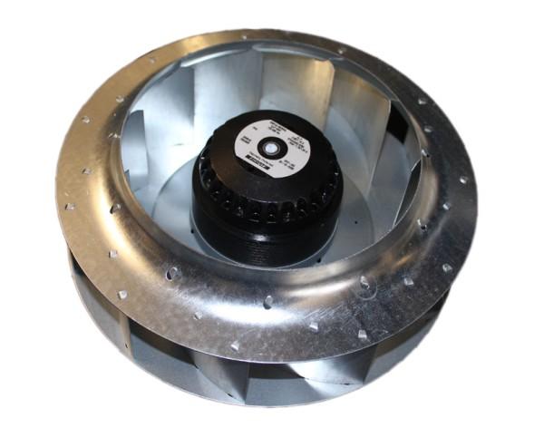 Motorlüfterrad rückwärtsgekrümmt 2RRE45 250x56R 230V AC mit Kondensator