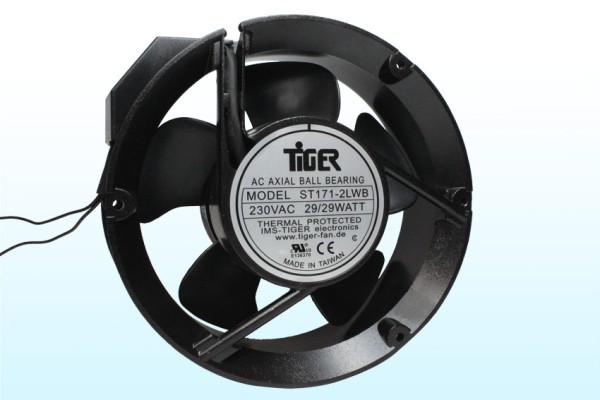 Lüfter Axial 230V AC Ø172x51mm Kugellager 2850U/min