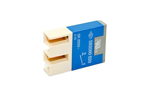 TH25 Kontaktelement, 1S GOLD, Stecker mit Isolierung
