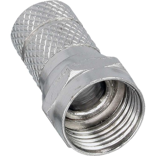 F-Stecker, für Koaxialkabel mit Aussenmantel 7,0mm