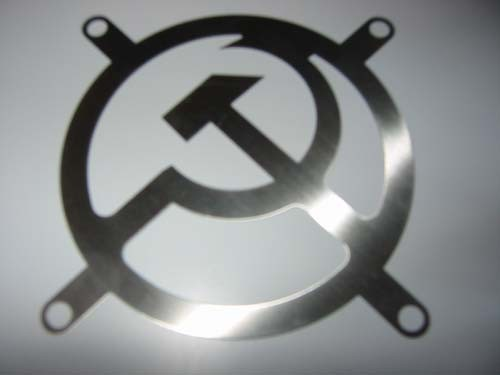Lüftergitter Laser Cut Osten 92x92mm