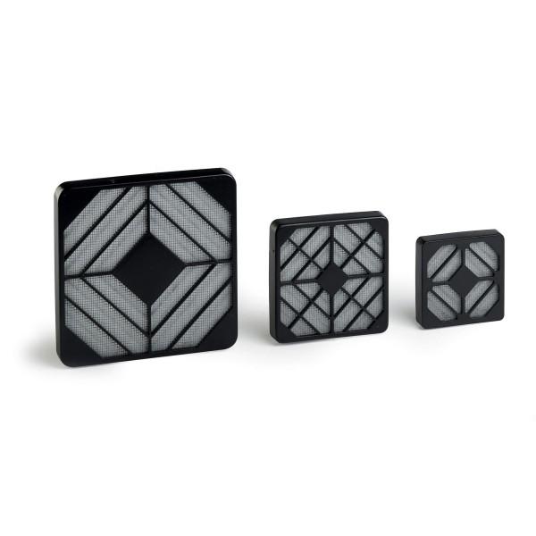 Filter-Kit für Lüfter 92x92mm - Feinpartikel Filter