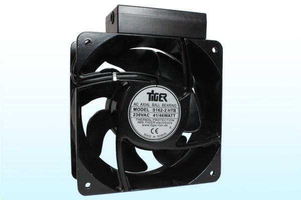 Lüfter Axial 230V AC 160x160x62mm 377,4m3/h 52dB(A)