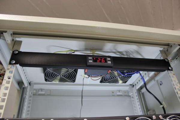 """19""""-Lüftereinheit 120²x38mm 230V AC vorbestückt"""