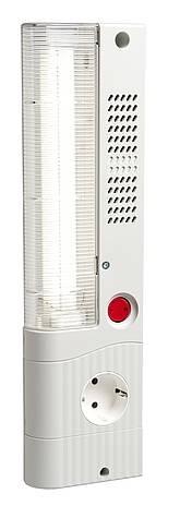 Slimline Leuchte 120VAC, 60Hz, 11W SL 025 Schalter, Magnetbefestigung, Steckdose USA