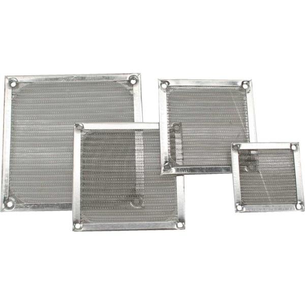 Lüftergitter, Aluminium Filter, 120x120mm