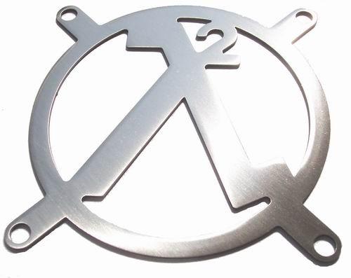 Lüftergitter Laser Cut Half-Life² 92x92mm