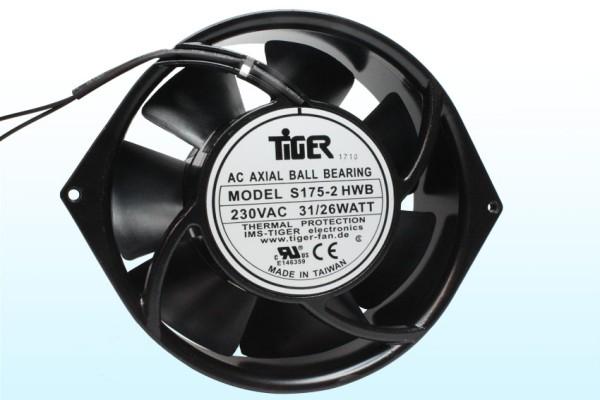 Lüfter Axial 115V AC Ø172x55mm Kugellager 2850U/min