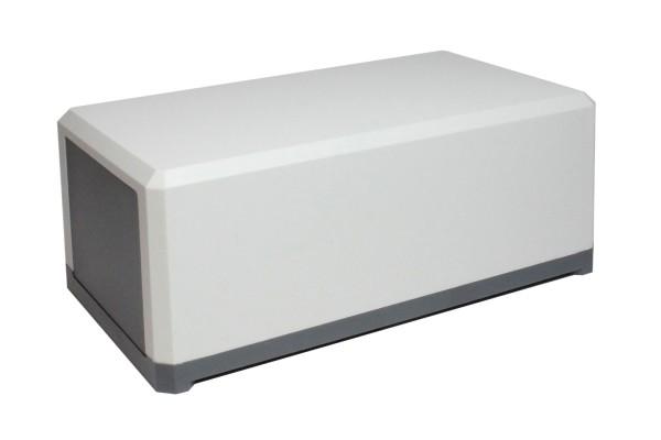 Universal-Gehäuse 138x84x58mm, Kunststoff, hellgrau, 1Stk.