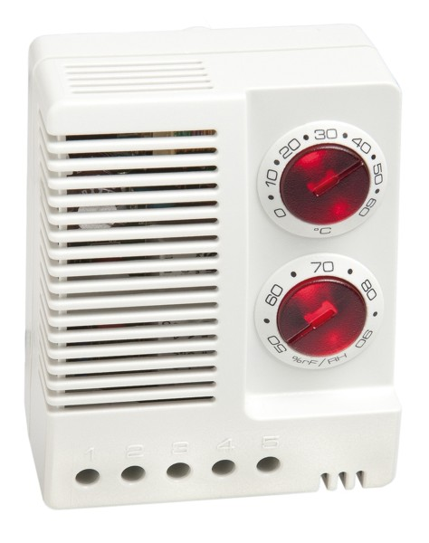Elektronischer Hygrotherm, ETF 012, AC 100-240V, 50/60 Hz, 0 bis 60 °C