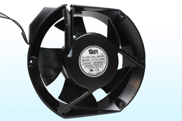 Lüfter Axial 230V AC Ø172x150x51mm Kugellager 2900U/min