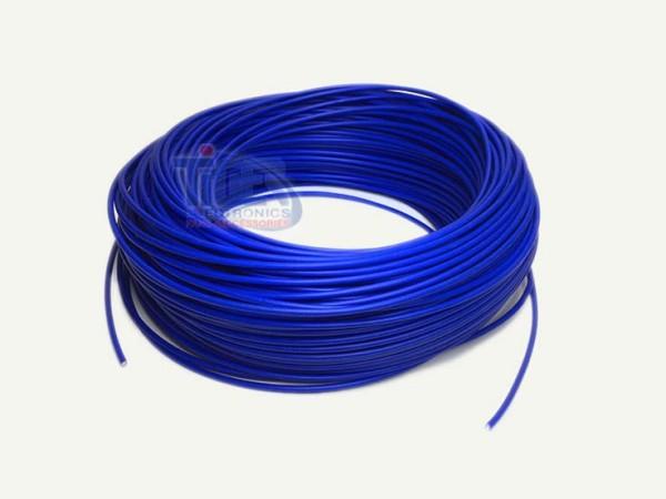 Drahtlitze 1x0,5mm², dunkelblau, Rolle m. 100m, H05V-K
