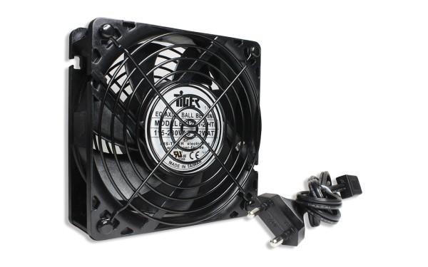 Belüftungseinheit 120x120x38mm 115~230V AC schwarz - plug and play